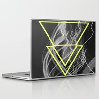 smoke Laptop & iPad Skins featuring smoke by ulas okuyucu