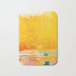 sunny landscape Bath Mat