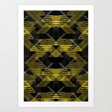 Laser Reflection Art Print