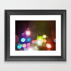 All of the Lights Framed Art Print