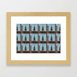 Pure Milk Montreal Framed Art Print