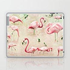 Flamingos Vintage Pink  Laptop & iPad Skin