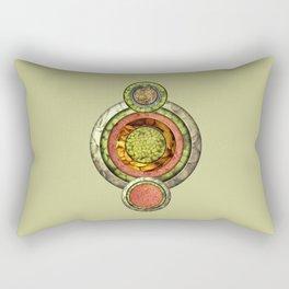 Tris Food Rectangular Pillow