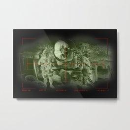 Target acquired  Metal Print