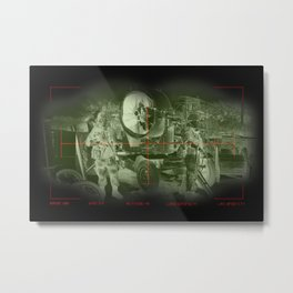 Target acquired  Metal Print