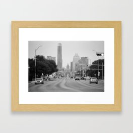 South Congress Framed Art Print