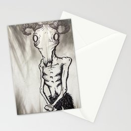 Patient Goat Stationery Cards
