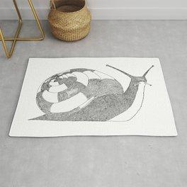 Snail - One Liner Artwork Rug
