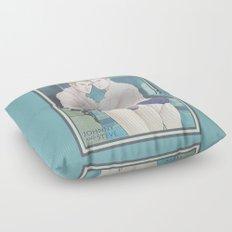 Johnny and Steve Floor Pillow