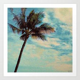 Kauai Palm Art Print