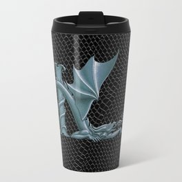 "Dragon Letter K, from ""Dracoserific"", a font full of Dragons Travel Mug"