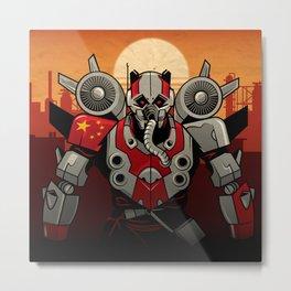 Turbine Panda - CrowdStrike Adversary Metal Print