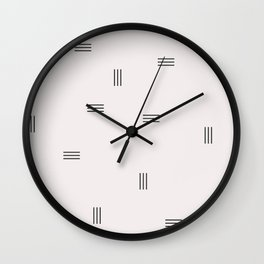 stripe Wall Clock