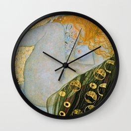 Gustav Klimt - Danae Wall Clock