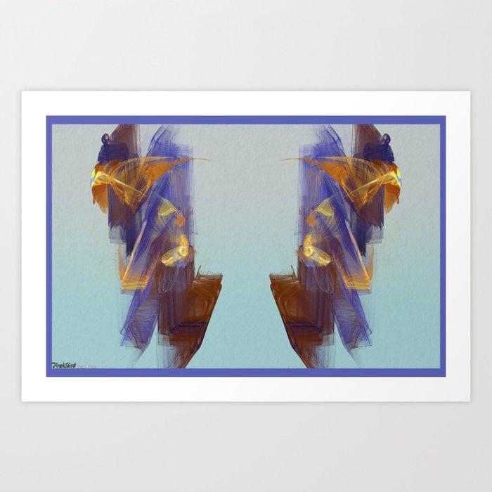 Frakblot Claw Art Print