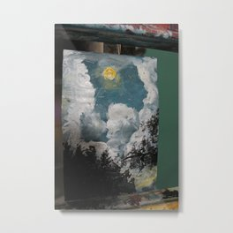 Silence in the Woods Metal Print