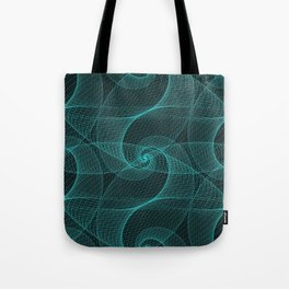 The Great Spiraling Unknown Tote Bag