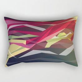 Running Man Rectangular Pillow