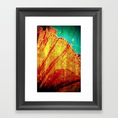 A small but very important piece of nature Framed Art Print