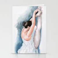 ballet Stationery Cards featuring Ballet by rchaem