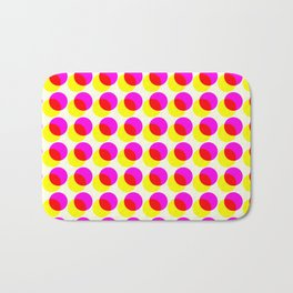 dots pop pattern 2 Bath Mat