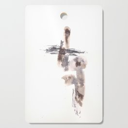 The Warrior for Justice - 151124  Abstract Watercolour Cutting Board