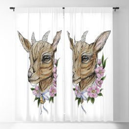 Billie goat Blackout Curtain