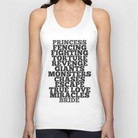 bride Tank Tops featuring Princess Bride by Leah Flores