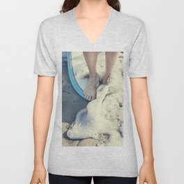 toes on the nose  Unisex V-Neck