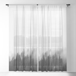 Misty Forest Sheer Curtain