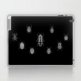 Beautiful Bugs Black Laptop & iPad Skin