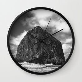 Oregon Rocks - Nature Photography Wall Clock