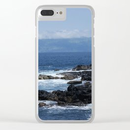 Azores Island Sea 1 Clear iPhone Case