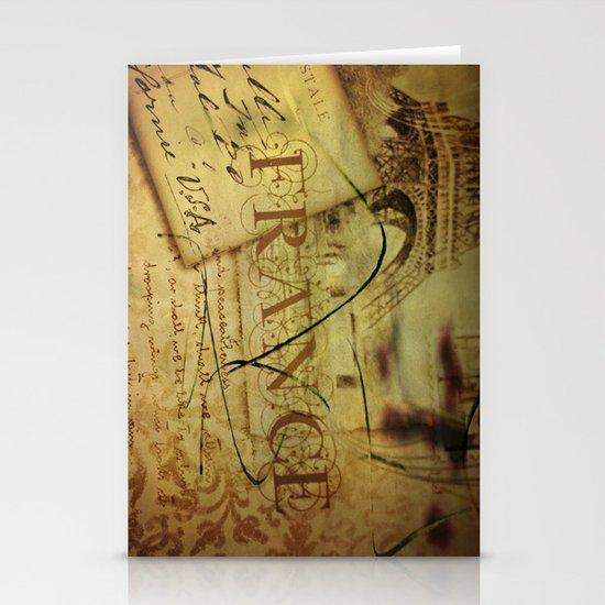 I ♥ France Stationery Cards