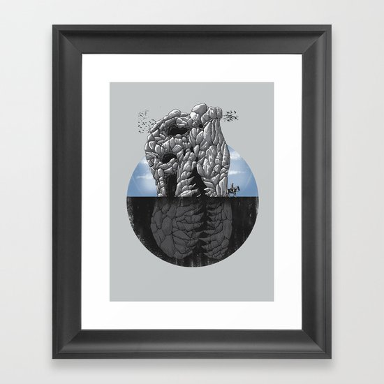 Someday We Will Fly Framed Art Print