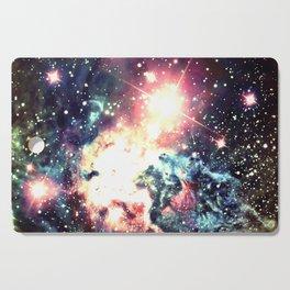 Fox Fur Nebula : Deep Pastels Galaxy Cutting Board