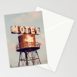 Road Trip x Vintage Motel Sign Stationery Cards