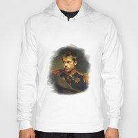 replaceface Hoodies featuring Brad Pitt - replaceface by replaceface