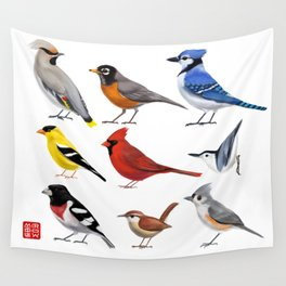Year of the Bird II. Wall Tapestry