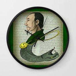Salazar Slytherin Wall Clock
