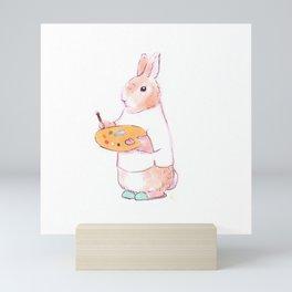 Artist Bunny Mini Art Print