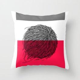 Worms' Ball XIV Throw Pillow