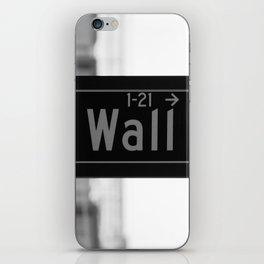 Wall St. Minimal - NYC iPhone Skin