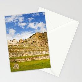 Machupicchu Sanctuary landscape Stationery Cards
