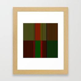 Minimal Design Framed Art Print