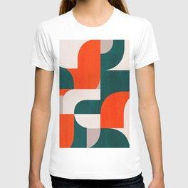 Mid century landscape T-shirt