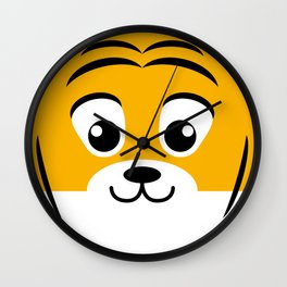 Baby Tiger. Kids & Puppies Wall Clock