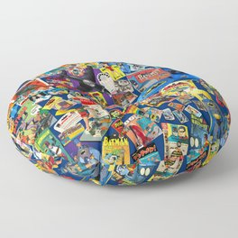 Mania '66! Floor Pillow
