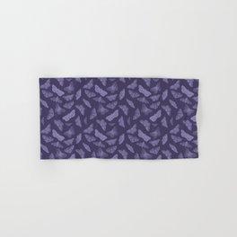 Butterflies on Violet Hand & Bath Towel