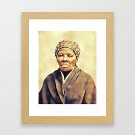 Harriet Tubman, Activist Framed Art Print